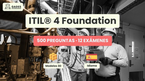 [9.99€ - SP] ITIL 4 Foundation- PDF GRATIS - 500 Preguntas