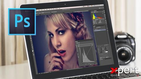 Adobe Photoshop CC Máster: De Básico a Profesional. New 2021