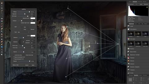 Affinity Photo de 0 a 100: Fotografía para diseñadores