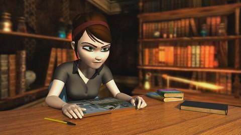 Animación de acting y lip sync para personajes 3D con Maya