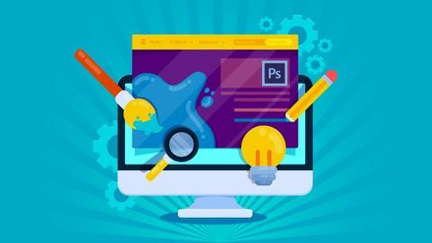 Aprende a construir sitios web con Photoshop CC 2018