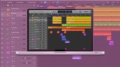 Aprende a Crear Piezas Musicales en Logic Pro X