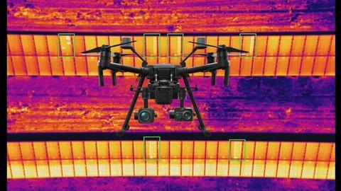 Aprende a realizar una inspección fotovoltaica con drones 2