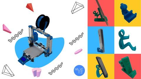 Aprende Impresión 3d: Crea tus propios soportes para celular