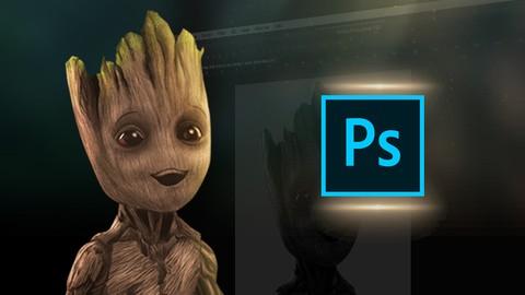 Aprende Pintura Digital: Crea a Baby Groot desde cero