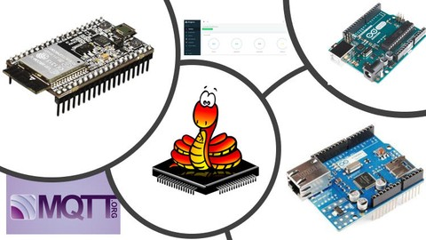 Arduino 2 con IoT, Shield Ethernet, MQTT,ESP32 y MicroPython