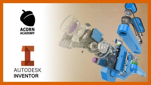 Autodesk Inventor para Principiantes - ¡Aprende desde cero!