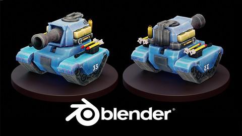Blender 2.9x Creación de Assets 3D para Videojuegos COMPLETO