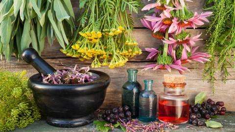 Botiquín naturopatía para el hogar