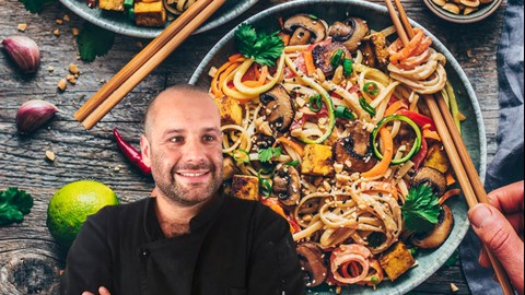 Cocina Vegana Asiática por el Chef Rodrigo Ponce