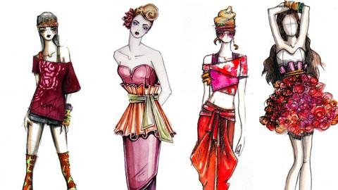 Conoce los elementos básicos del diseño para crear Moda