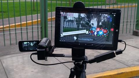 Conviertete en un Streamer profesional usando tu smartphone como transmisor de eventos en vivo