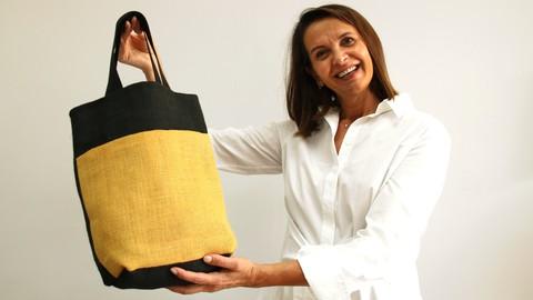 Coser bolso de tela tipo Tote Bag