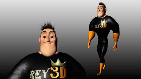Creando personajes cartoon 3D en Autodesk Maya y ZBrush