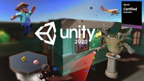 Curso completo de Unity 2020: domina el mundo de videojuegos