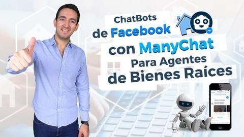 Curso de ChatBots con ManyChat para Agentes de Bienes Raíces