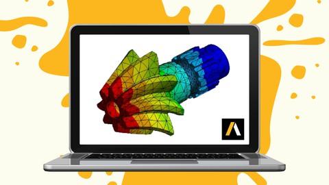 Curso de elementos finitos con Ansys online para ingeniería