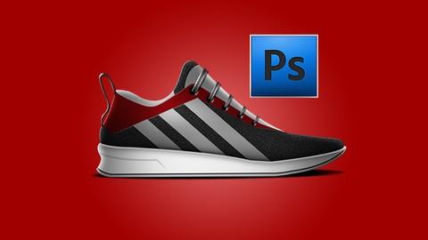Curso de Photoshop cc (diseño de calzado / zapatilla de depo