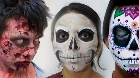 Curso maquillaje para Halloween, día de muertos y disfraces