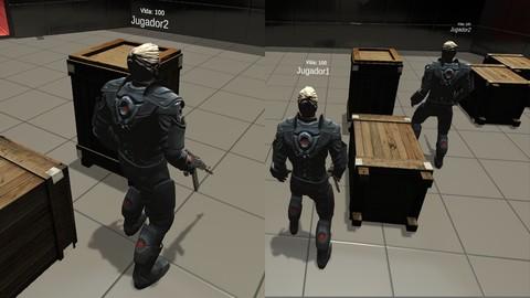 Desarrolla Juegos 3D Multijugador o Multiplayer en UNITY.