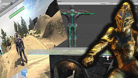 Desarrollo de juegos 3D en tercera persona. Fácil con UNITY.