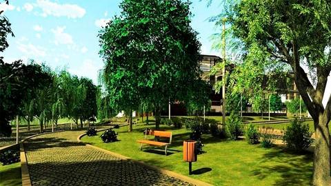 Diseño BIM 3D de Jardines y Espacios Públicos. Realiza tus proyectos de jardinería y remodelación de espacios urbanos