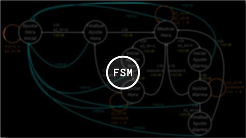 Diseño de máquinas de estado finito y VHDL. Un reloj digital con alarma