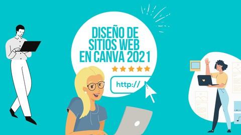 Diseño de sitios web en CANVA 2021 ¡Desde CERO y GRATIS!