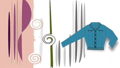 Diseño técnico de moda con Illustrator