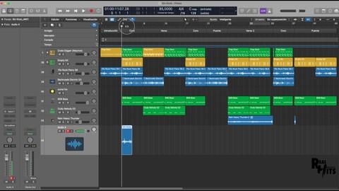 Domina Logic Pro X creando una canción completa ( Básico)