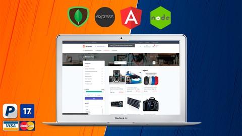 Ecommerce con Angular y Paypal (MEAN), tienda online