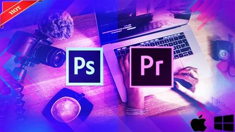 Edición de video & fotografía profesional(Premier/Photoshop)