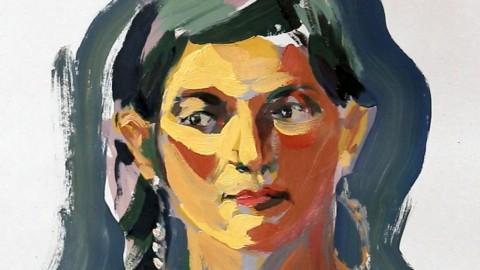 El arte del Retrato. El rostro humano; dibujo y pintura.