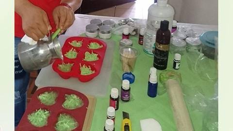Elaboración de Jabones, Cremas, Tónic con Aceites Esenciales