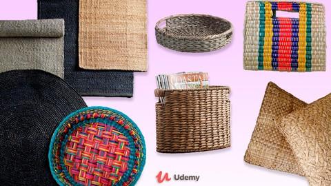 Empieza tu propio negocio con artesanías tejidas en fibras