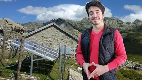 Energía solar OFF GRID AISLADA de la red con baterías