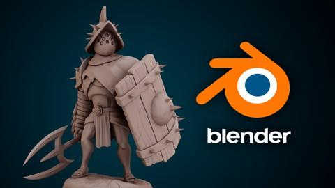 Escultura de personajes con Blender 2.91