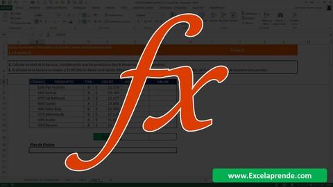Excel Avanzado Formulas y Funciones