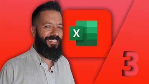 Excel Masterclass 3 - Experto (VBA + Programación + Macros)