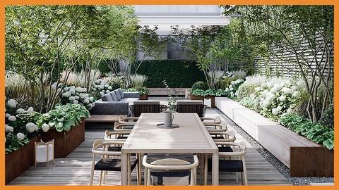EXPERTO en Diseño de Terrazas y Pequeños Jardines Domésticos