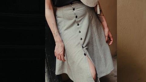 FALDA HONEY -Diseña y cose tu falda + Patrón pdf descargable