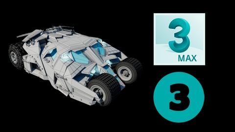 Guía completa de modelado en 3D Vol.3 - El Carro de Batman