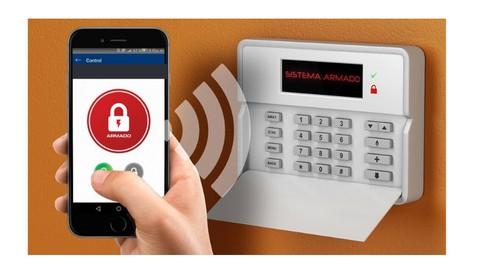 Instalacion de alarma avanzado con sistema de automonitoreo