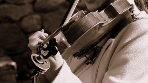 Introducción al violín 2: entrenamiento de la mano izquierda