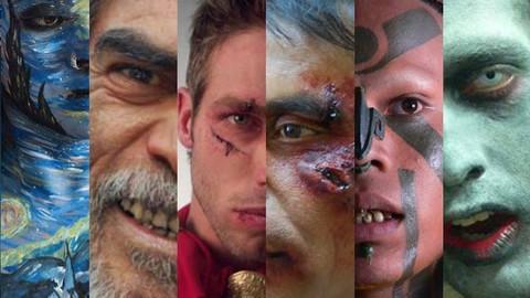 Maquillaje de caracterización y efectos especiales FX cine
