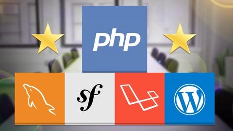 Master en PHP, SQL, POO, MVC, Laravel, Symfony, WordPress +