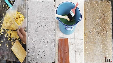 Materiales 4 - Impermeabilizantes de jabón - alumbre y cal