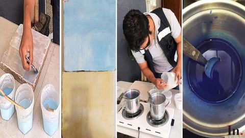 Materiales 5 - Pintura a la cal y a la leche