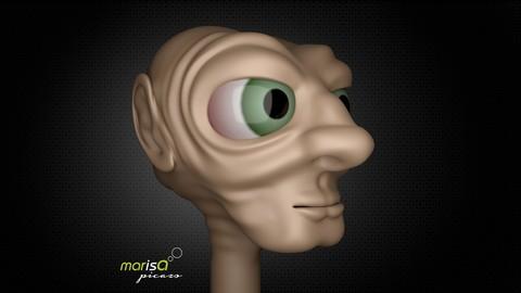 Modelado y Esculpido 3D en Autodesk Maya