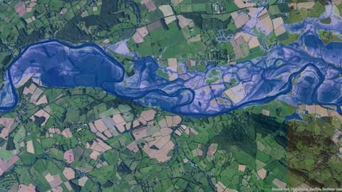 Modelización y análisis de inundaciones con Hec-RAS y ArcGIS